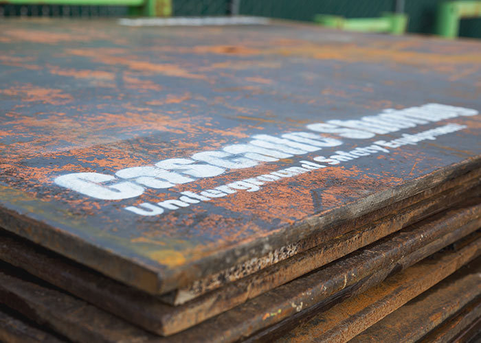 Cascade Shoring's Steel Road Plates